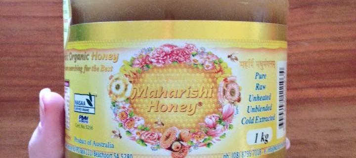 Certified Organic Maharishi Honey