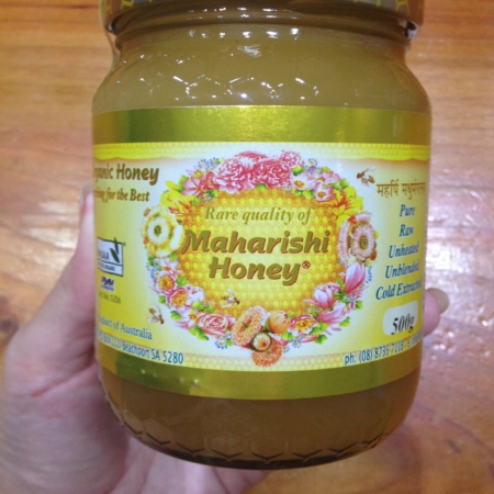 Certified Organic Maharishi Honey - 500g