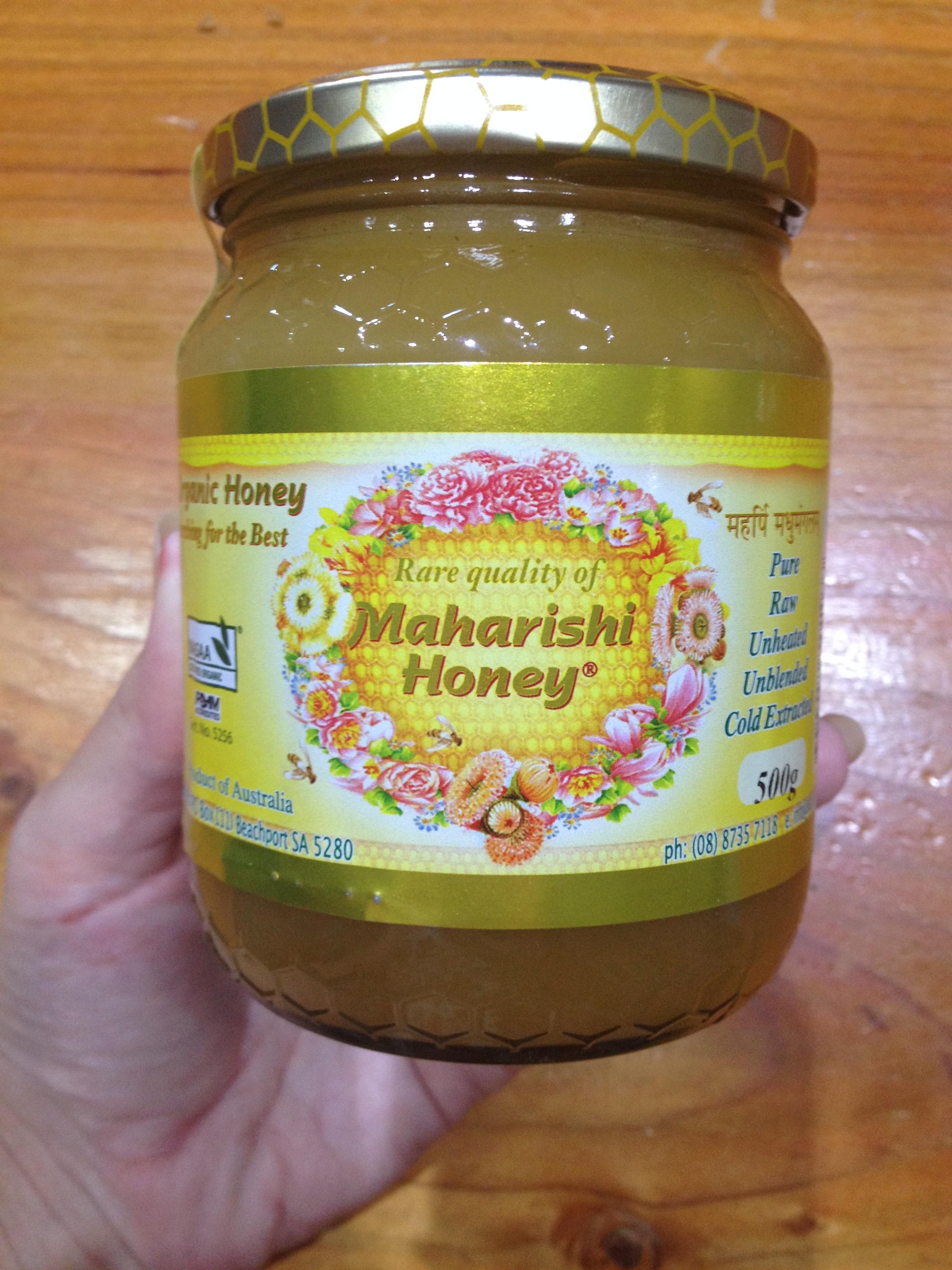 Certified Organic Maharishi Honey - 500g